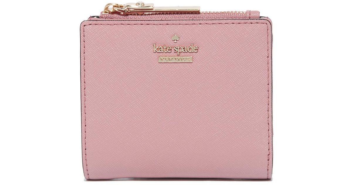 01bf33e982941 Kate Spade Adalyn Wallet in Pink - Lyst