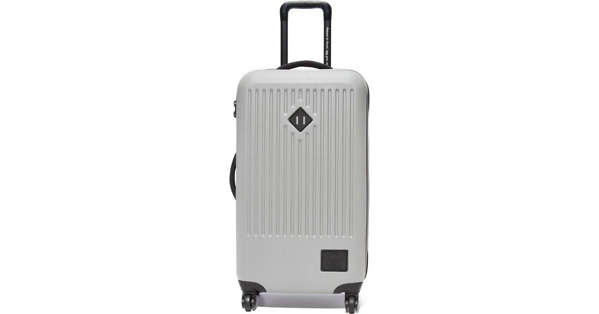 4d7b4a8aa9c8 Herschel Supply Co. Trade Medium Suitcase in Gray - Lyst