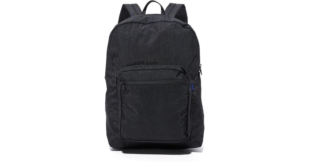 BAGGU School Backpack in Black - Lyst 377b344fde