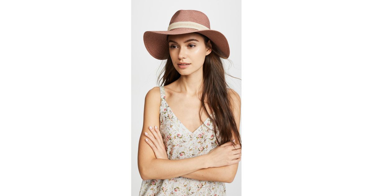 abddfc803dc Lyst - Madewell Packable Mesa Straw Hat
