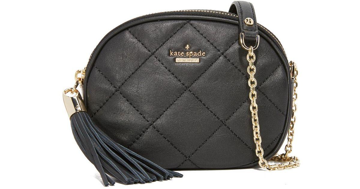 9db023ce0 Kate Spade Tinley Camera Bag in Black - Lyst