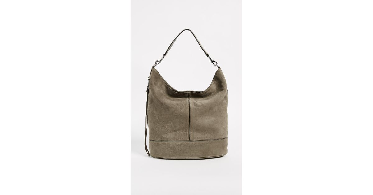 fc3a7423e34 Lyst - Rebecca Minkoff Bucket Hobo Bag in Green