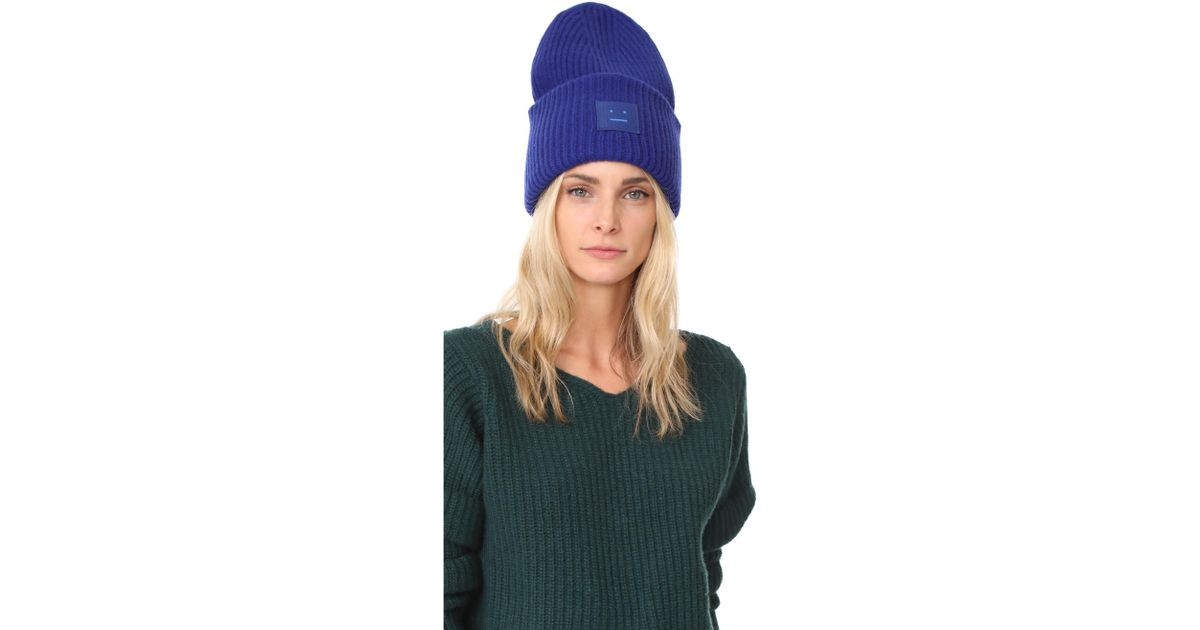 9723699e58d11 Lyst - Acne Studios Pansy L Face Hat in Blue