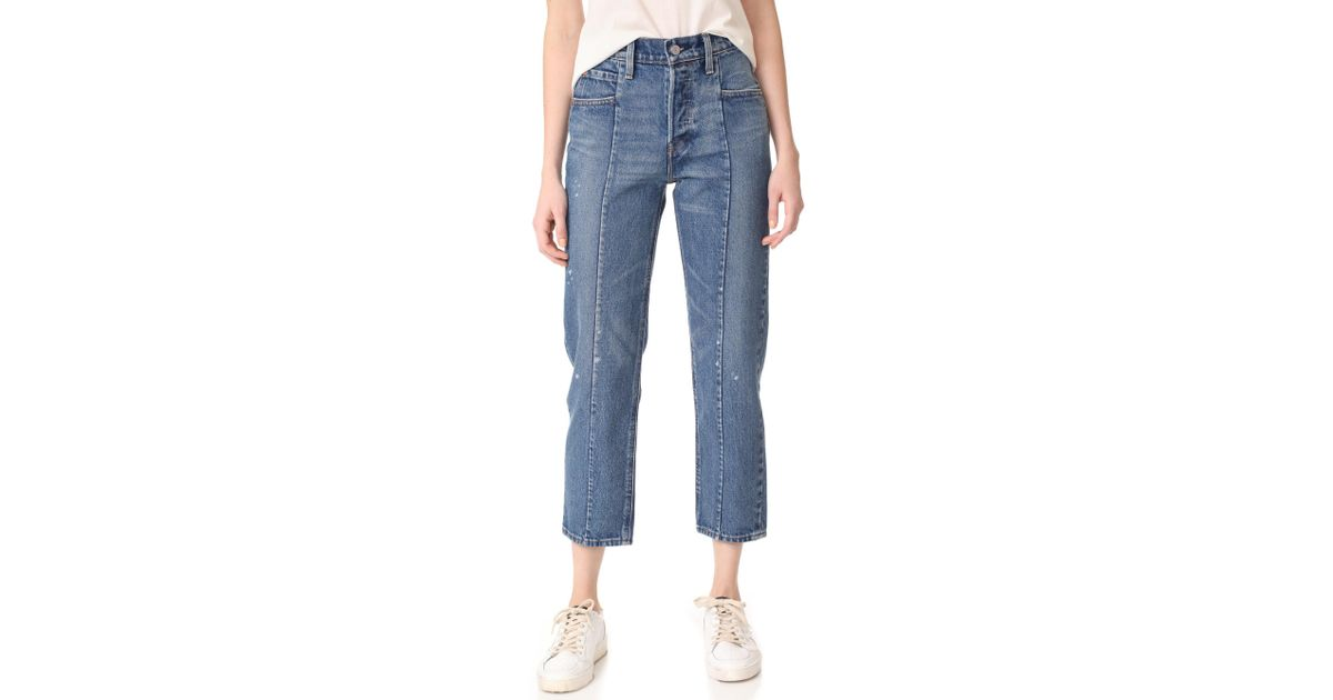 eb3010b16ec Levi's Altered Straight Jeans in Blue - Lyst