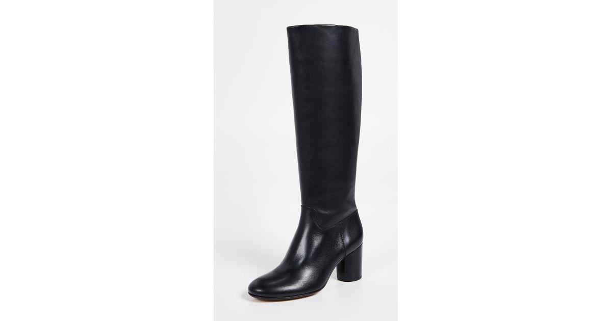 1956aa61648 Madewell The Scarlett Tall Boots in Black - Lyst