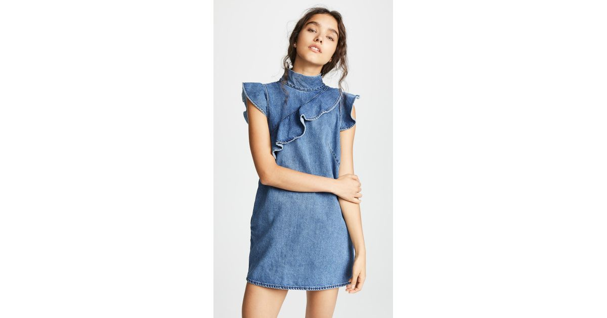 942fb58ba4a McGuire Denim Sorbonne Dress - Lyst