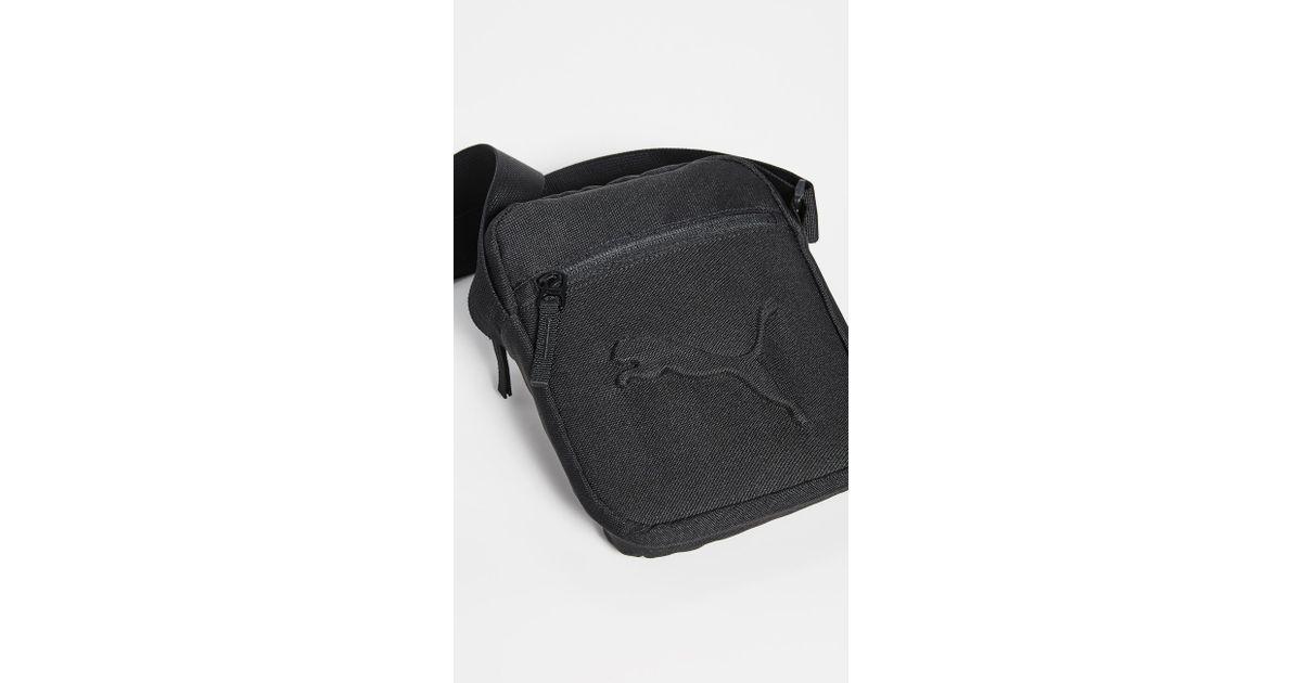 6de41b5e25e PUMA Reformation Crossbody Bag in Black - Lyst