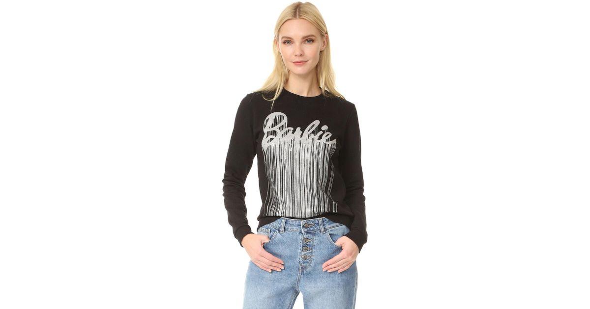 Eleven Paris Barbie Sweatshirt In Black Lyst