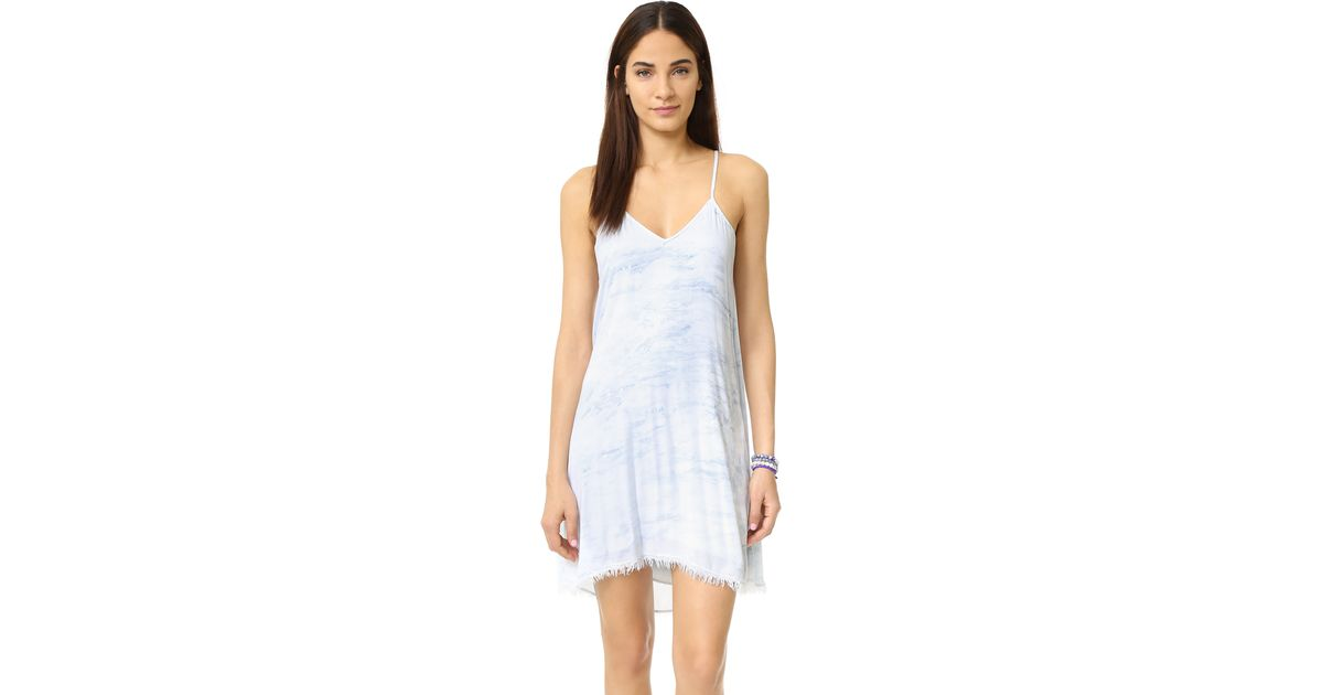 3e68cddff2 Lyst - Feel The Piece Gracie Woven Dress in Blue