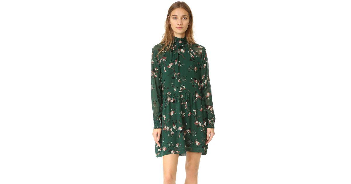 1ceef775 Ganni Marietta Georgette Dress - Lyst