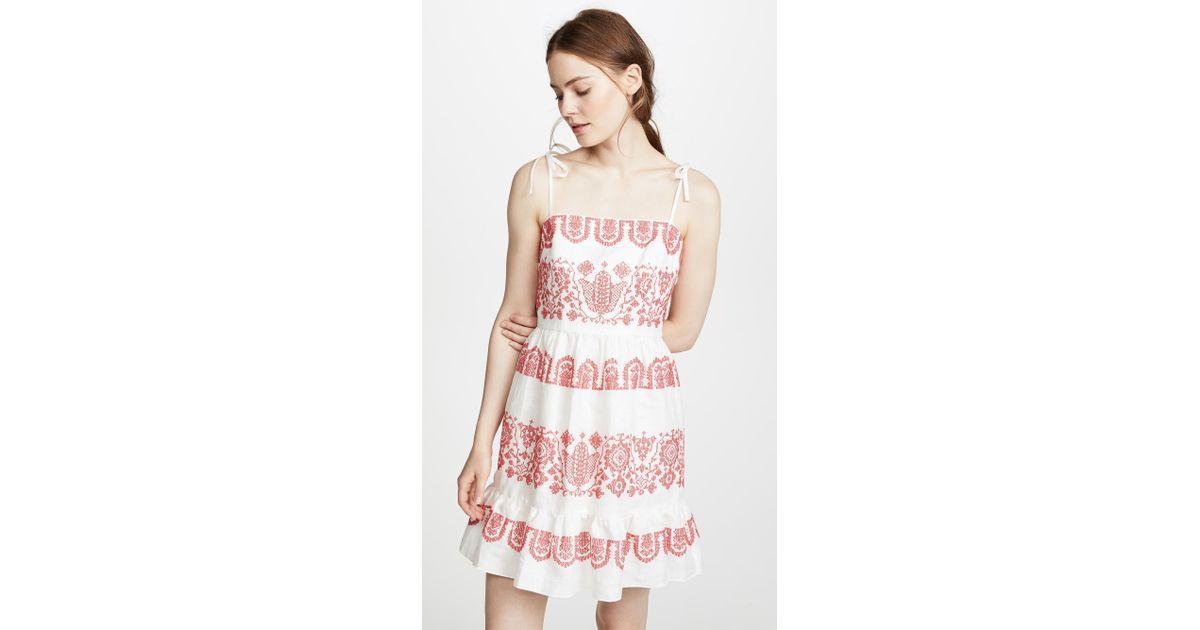 8120b8c97b7 Lyst - MILLY Mila Dress in Pink