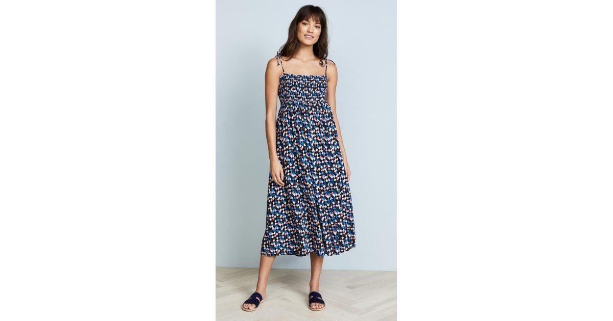 e850a88b17937 Tory Burch Prism Convertible Beach Dress in Blue - Lyst