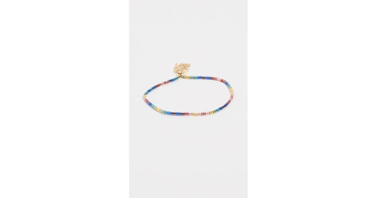 Shashi Lily Chain Bracelet cyqbE0rH