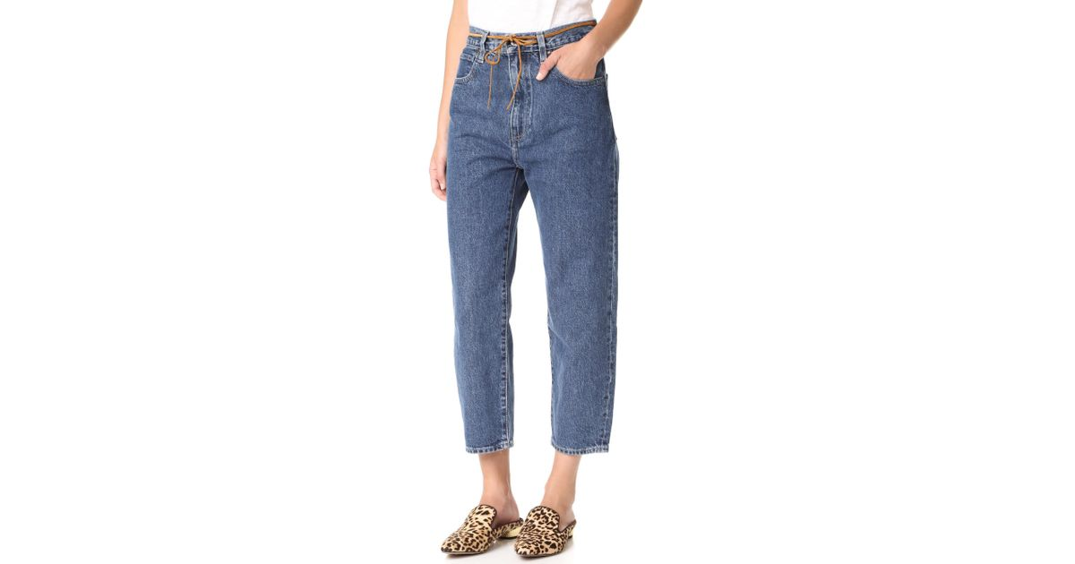 ad17db6cb4 Lyst - Levi s Made   Crafted Barrel Jeans in Blue