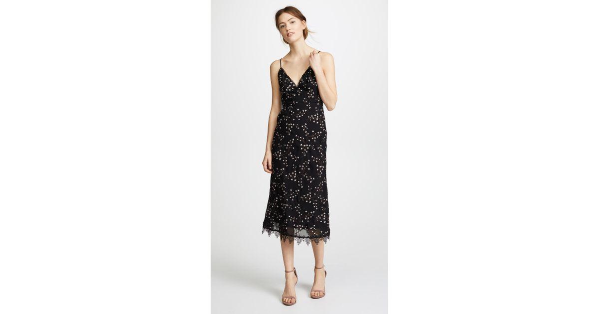 98949c7007b Lyst - La Maison Talulah Courts Midi Dress in Black