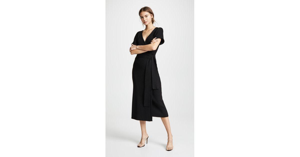 426bb520c7a Lyst - Mara Hoffman Joss Sweater Dress in Black