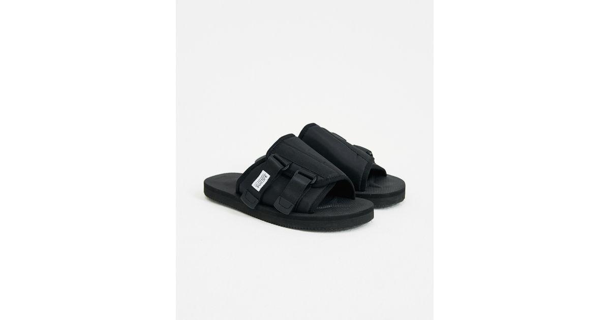 c66043b131b Lyst - Suicoke Kaw Sandal Slides in Black