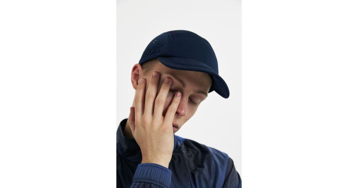 0dc10017 Reebok Navy Foam Cap in Blue for Men - Lyst