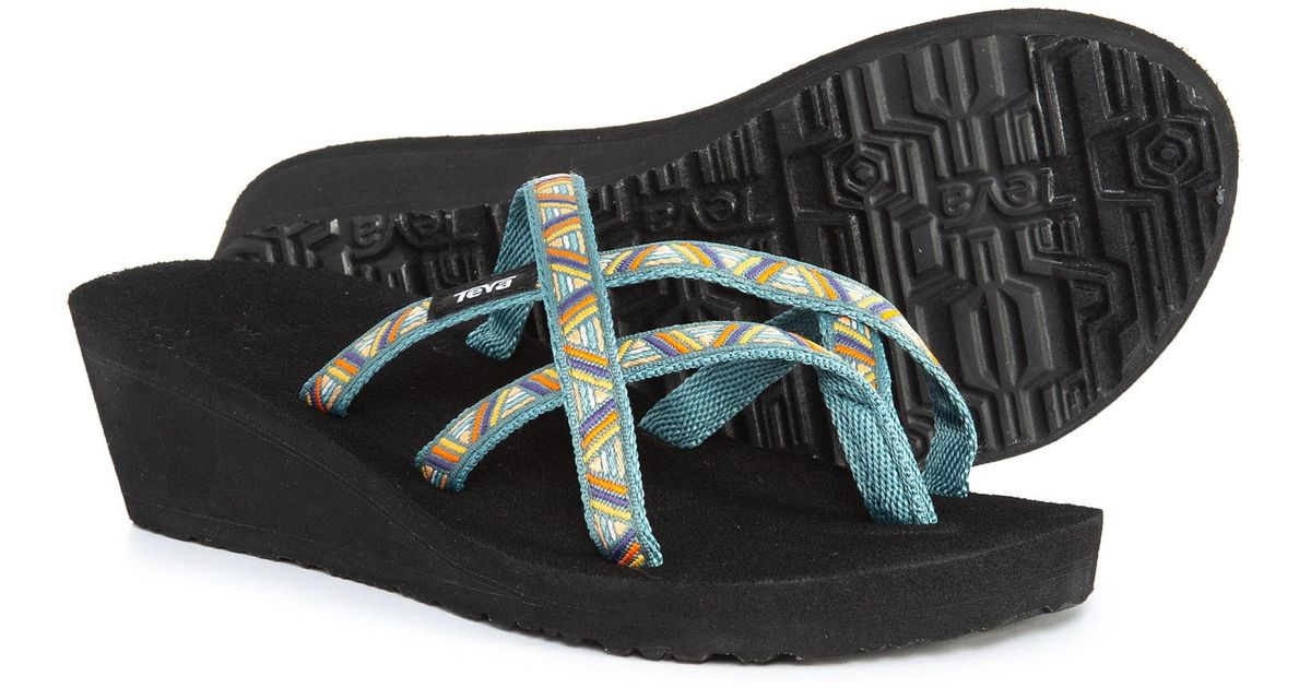 a0725eaddd3e Lyst - Teva Mush® Mandalyn Wedge Ola 2 Sandals (for Women) in Black