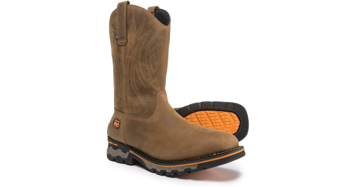 af8bcb684b20 Lyst - Timberland Pro Ag Boss Soft Toe Work Boots in Brown for Men