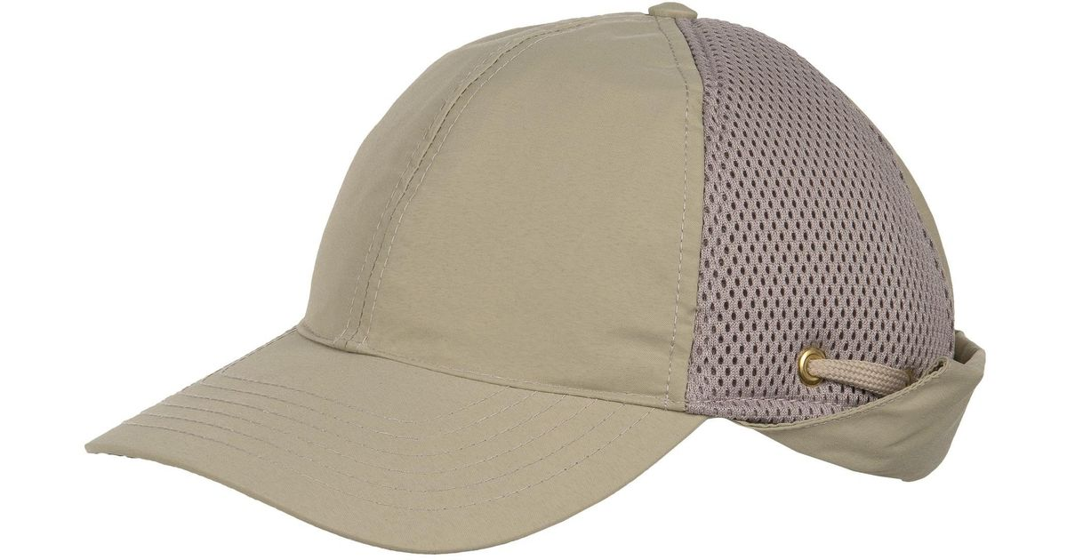 Lyst - Tilley Airflo Sun-protective Baseball Cap With Neck Cape (for Men)  in Natural for Men 3441b0669d8