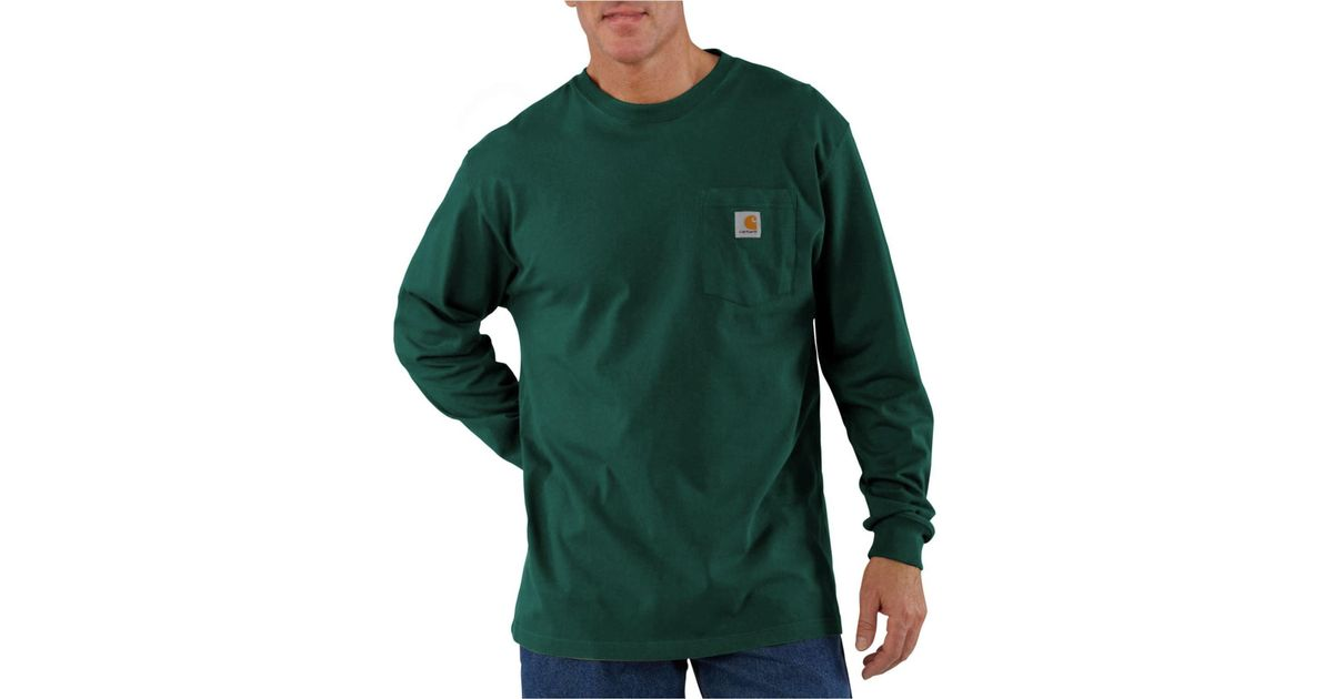 523c02ac0eb9ff Lyst - Carhartt Workwear Pocket T-shirt in Green for Men