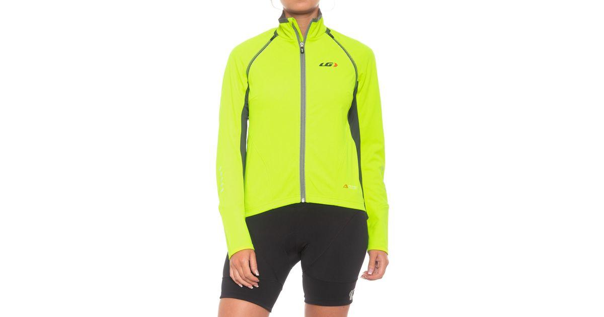 Lyst - Louis Garneau Spire Polartec® Power Shield® Convertible Cycling  Jacket (for Women) in Yellow ee2107322