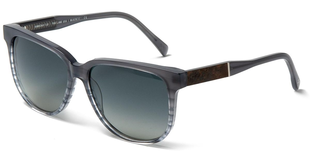 d56151686ce Lyst - Shwood Mckenzie Sunglasses in Gray