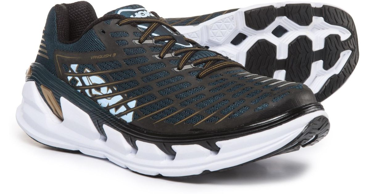 1ee38a87a7e6 Lyst - Hoka One One Vanquish 3 Running Shoes (for Men) in Metallic for Men