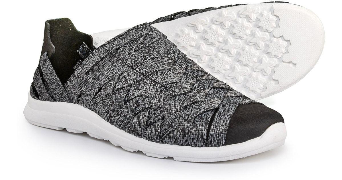 e50ce76e2ecd94 Lyst - Merrell Flora Kye Weave Sneakers in Black