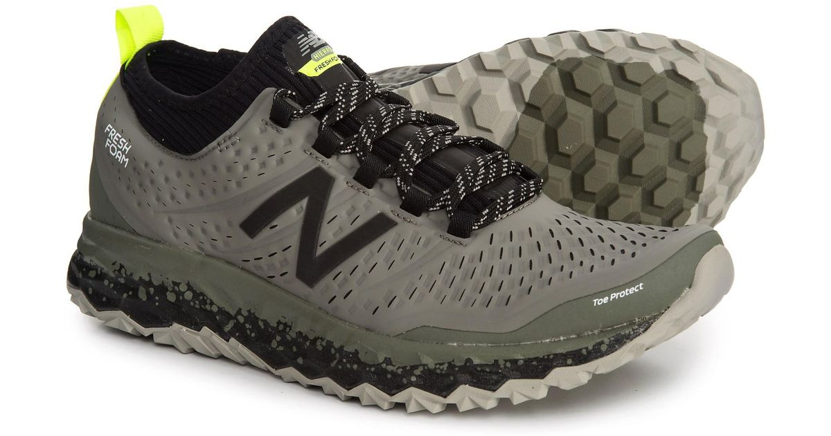 new appearance special promotion best sale New Balance Black Fresh Foam® Hierro V3 Trail Running Shoes (for Men) for  men