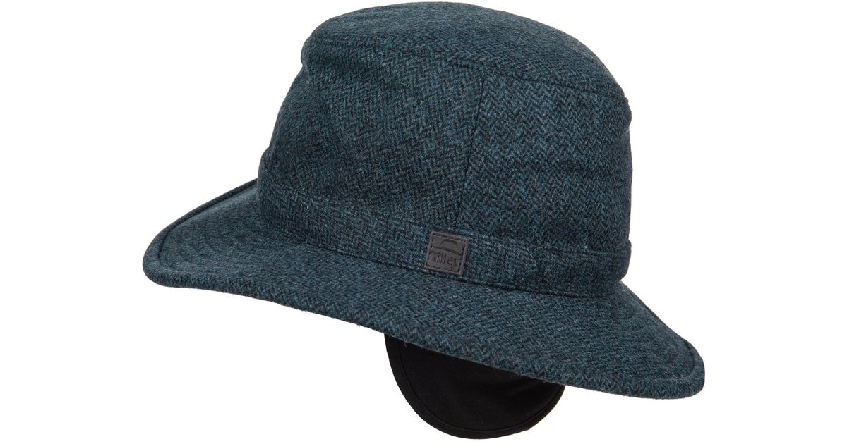 Lyst - Tilley Tec-wool Hat (for Men) in Blue for Men e9873aed07c