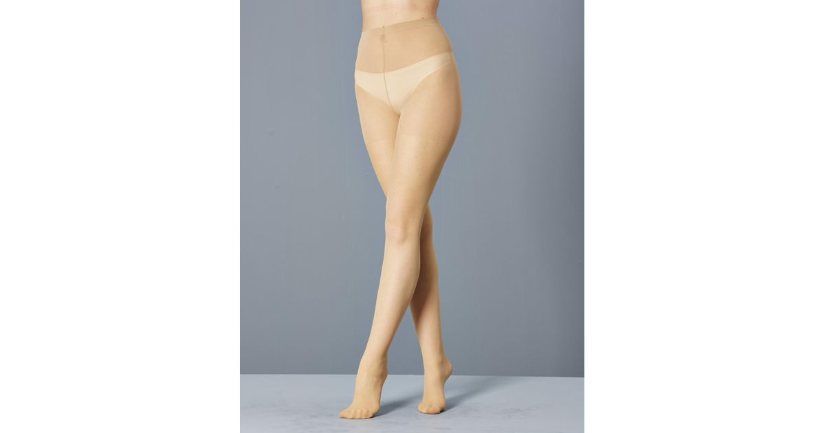 06993ba1a Simply Be Naturally Close 6 Pack 15 Denier Ladder Resist Pantyhose in  Natural - Lyst