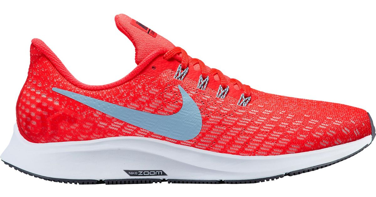 3808dc2e645 Lyst - Nike Air Zoom Pegasus 35 in Red for Men