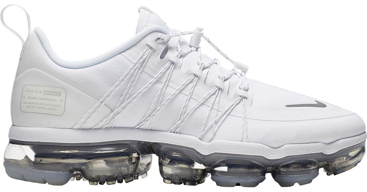 timeless design 24220 d2e4f Nike Air Vapormax Run Utility in White - Lyst