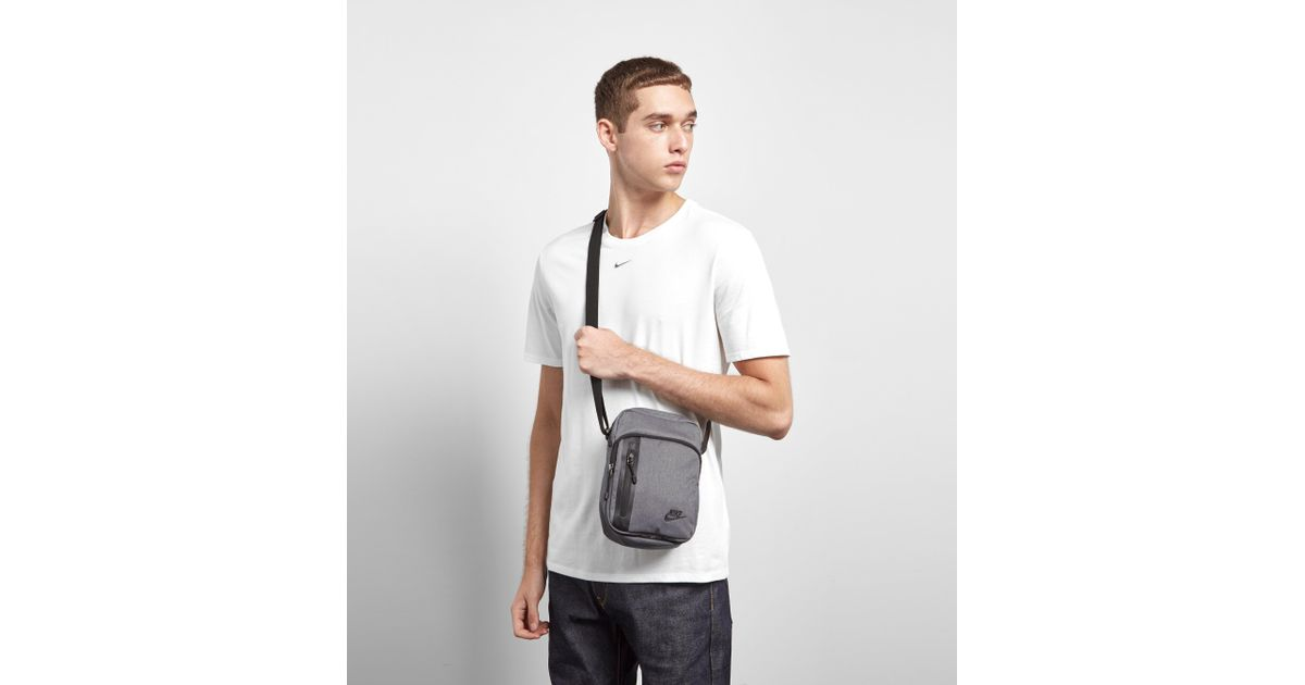 75a17e71d99 Nike Core Small Crossbody Bag in Gray for Men - Lyst