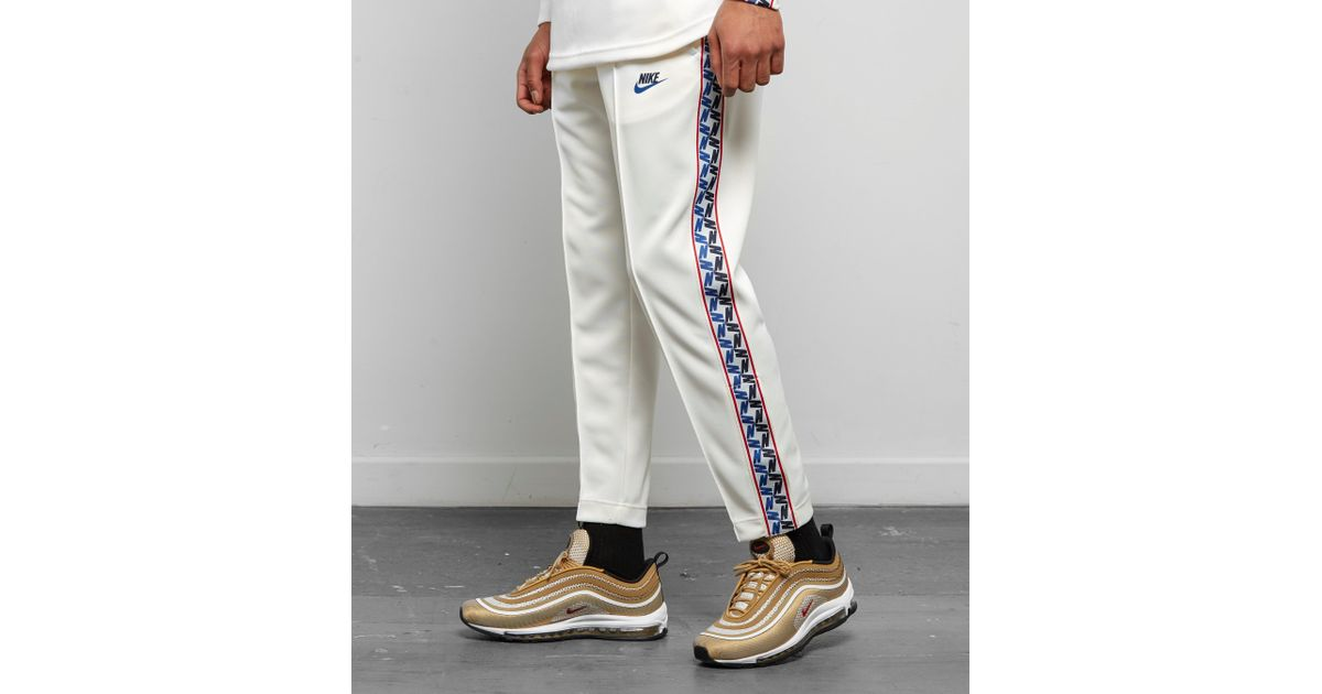 new concept great deals on fashion designer fashion Nike White Taped Poly Track Pants for men