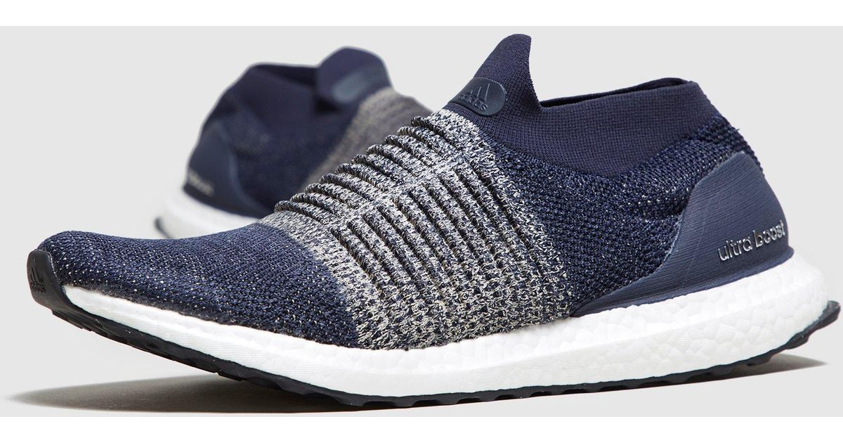 8a142acf53b Lyst - adidas Ultra Boost Laceless in Blue for Men