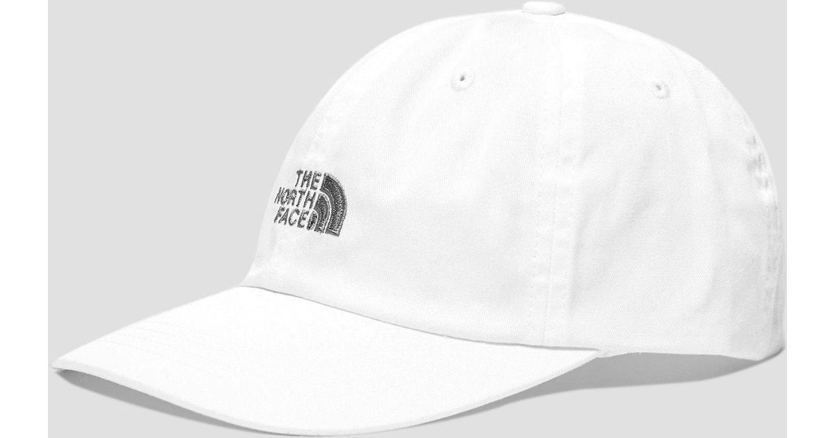 The North Face North Face Norm Cap in White for Men - Lyst 4dd6f6b949c