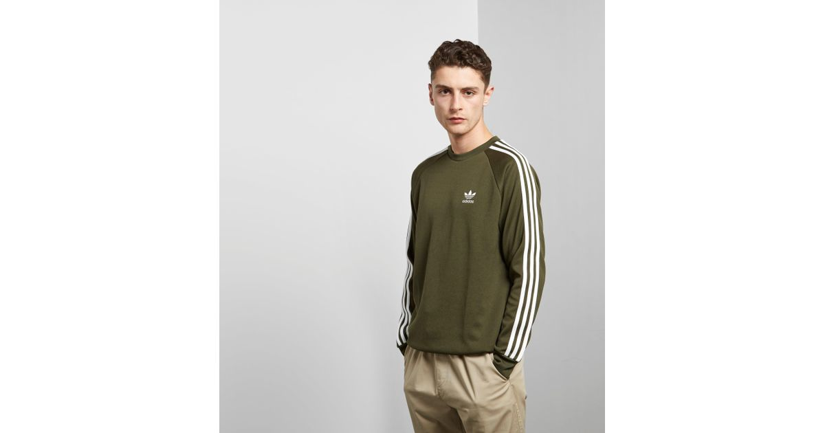 Adidas Originals In Lyst Men Sweatshirt Crew Green For California rr76xqwR