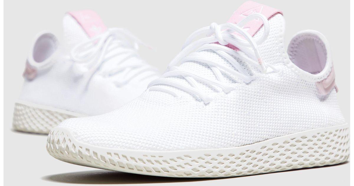 7e13e76a9 Lyst - adidas Originals X Pharrell Williams Tennis Hu Women s in White