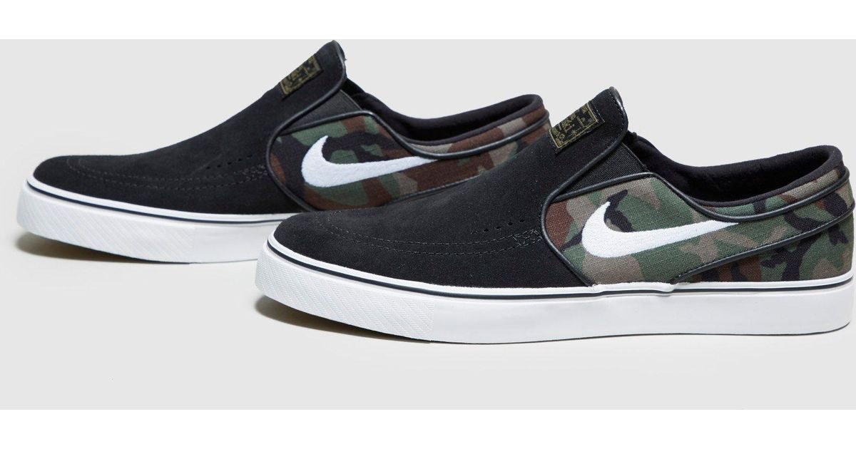 8c85652081 Lyst - Nike Zoom Stefan Janoski Slip-on in Black for Men