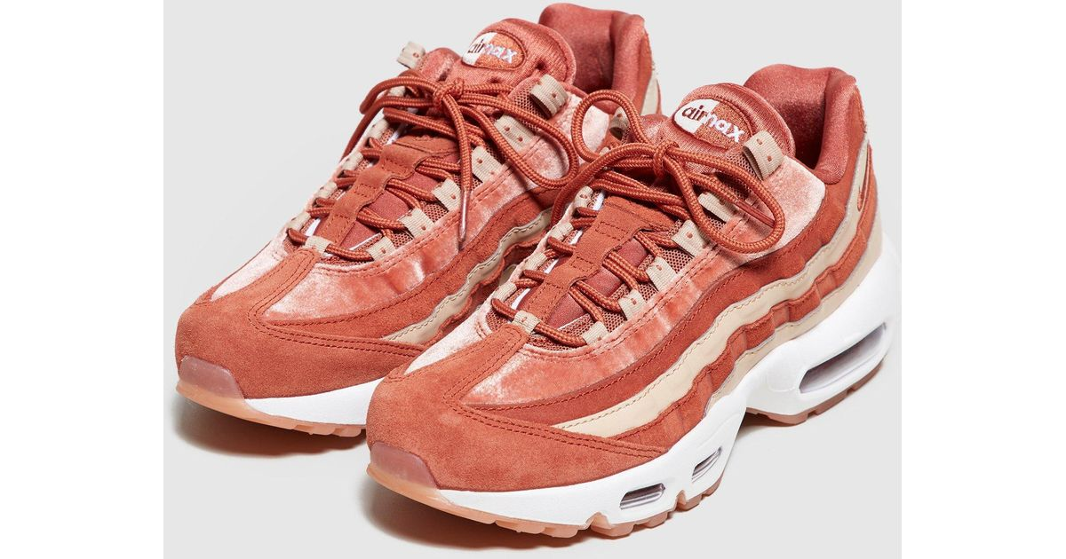 Lyst - Nike Air Max 95 Women s in Red c7d4c236d
