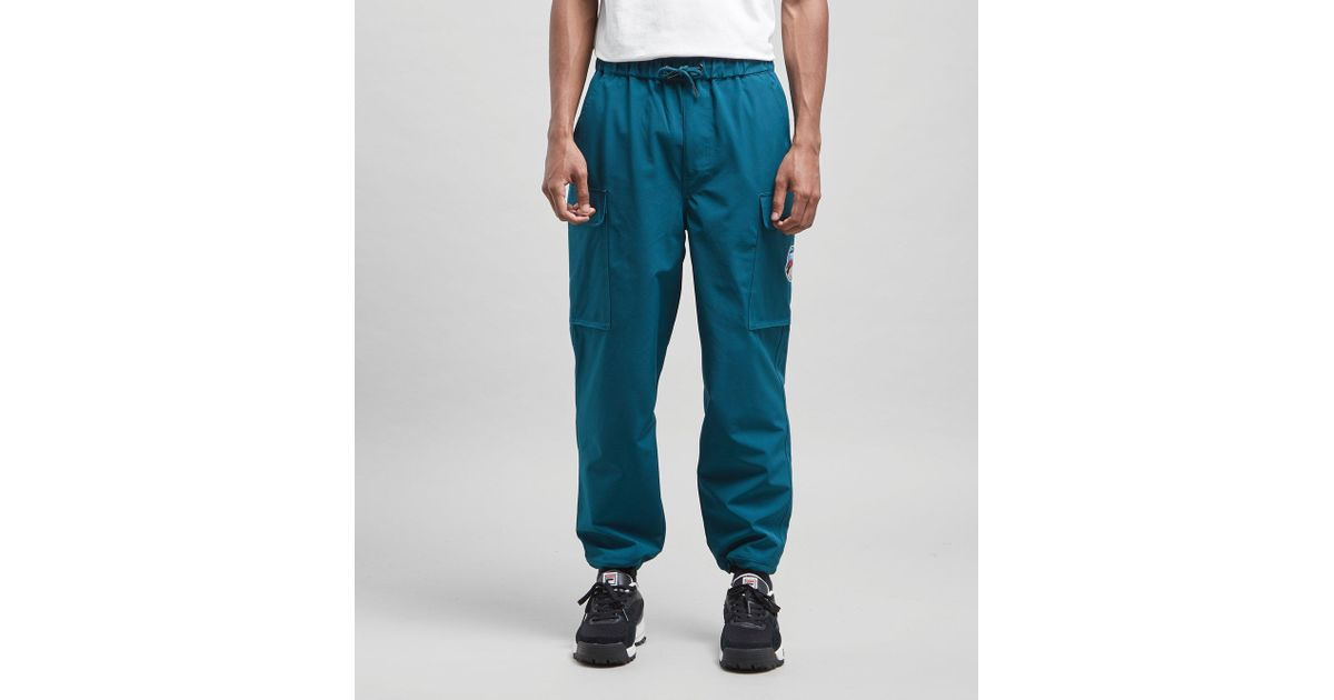 great fit outlet online search for official Fila Blue Youla Cargo Pants - Size? Exclusive for men