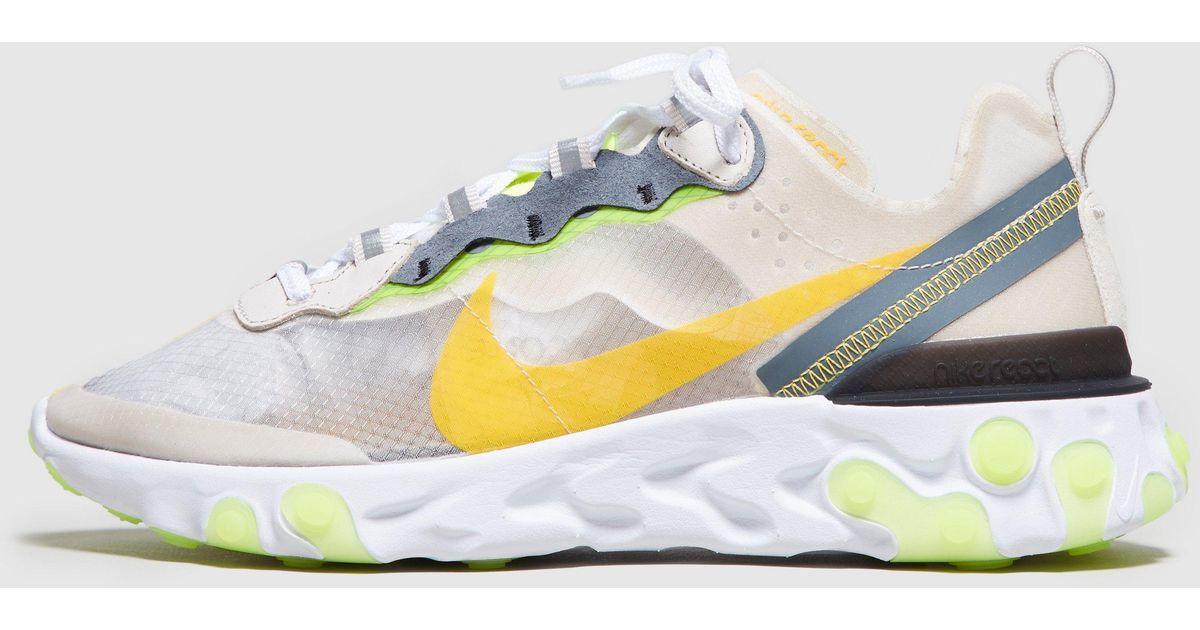 3584f7055f027 Lyst - Nike React Element 87 Women s in Brown