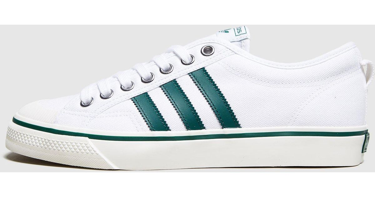 low priced faf84 1f044 Lyst - Adidas Originals Nizza Lo in White for Men