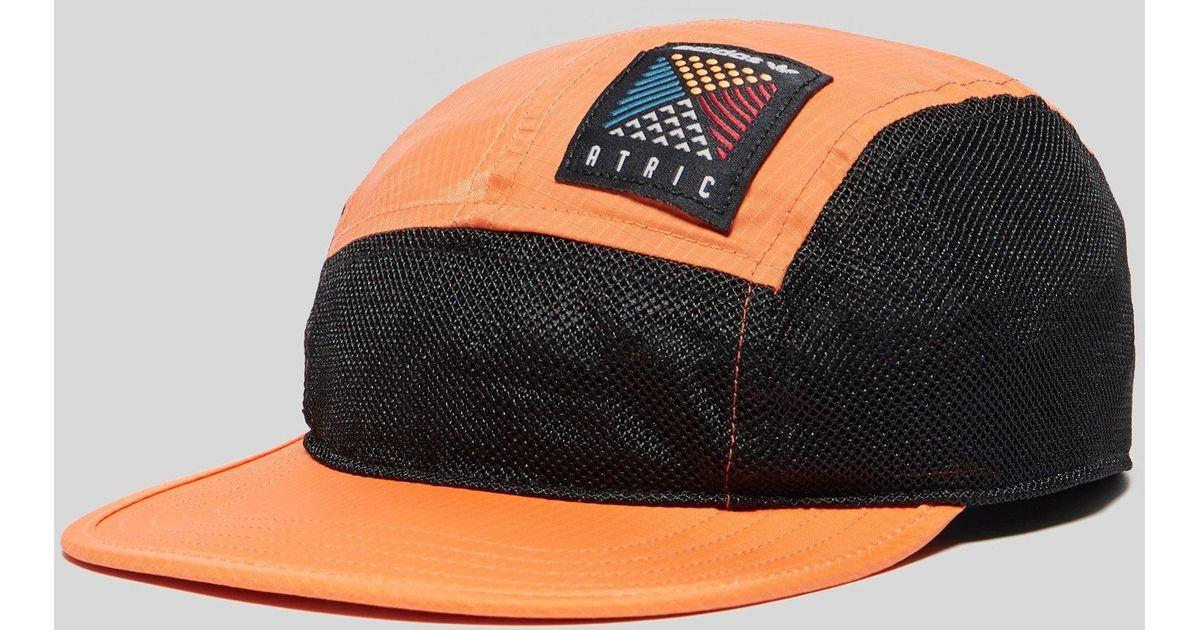 ce29c0f78f30a adidas Atric 5 Panel Cap in Orange for Men - Save 38% - Lyst