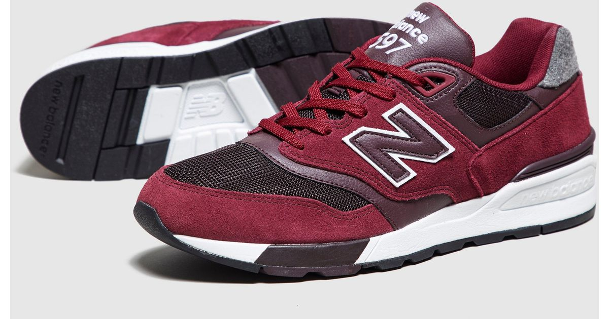 new style 706f4 f134c New Balance - Red 597 for Men - Lyst
