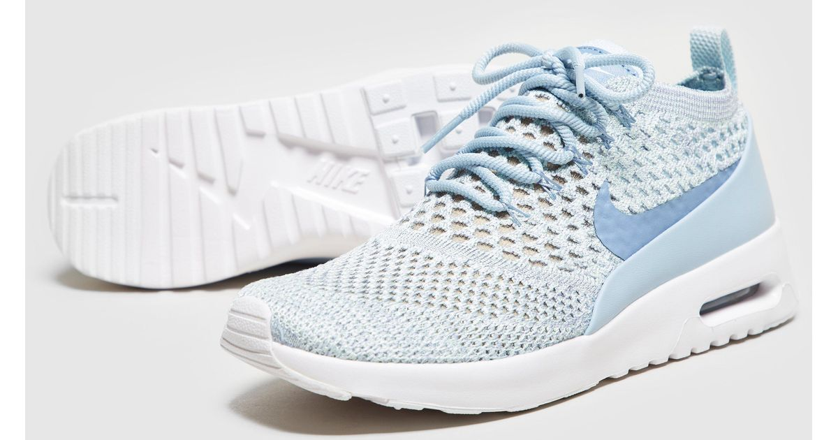 uk availability 81c93 d4bb4 Nike - Blue Air Max Thea Flyknit Women's - Lyst