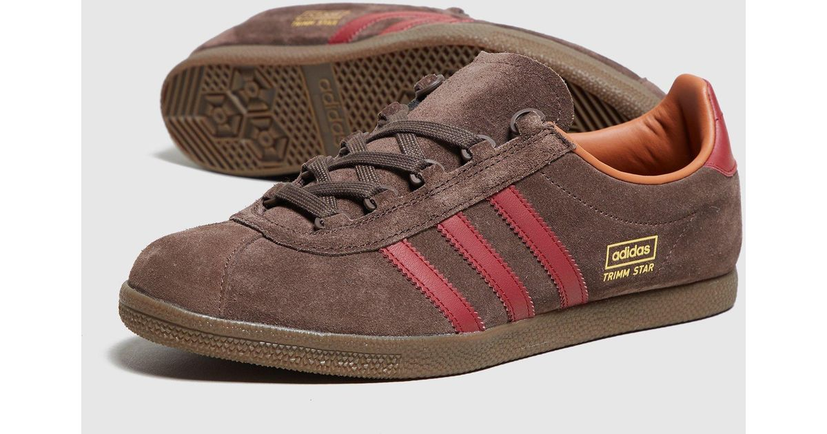 Lyst - adidas Originals Trimm Star - Size  Exclusive in Brown for Men d175e21c2